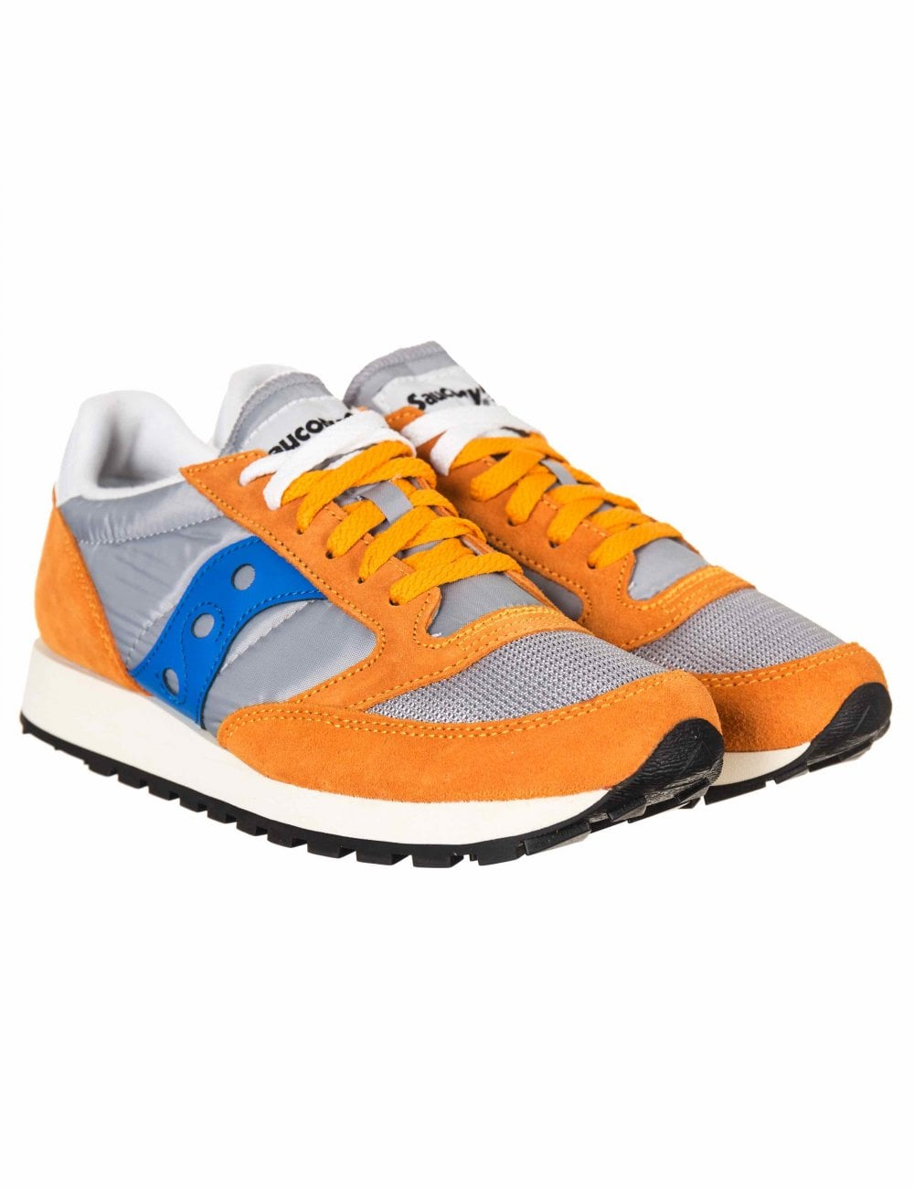 detailed look 25819 8cad7 Jazz Vintage OG Trainers - Orange/Grey/Blue
