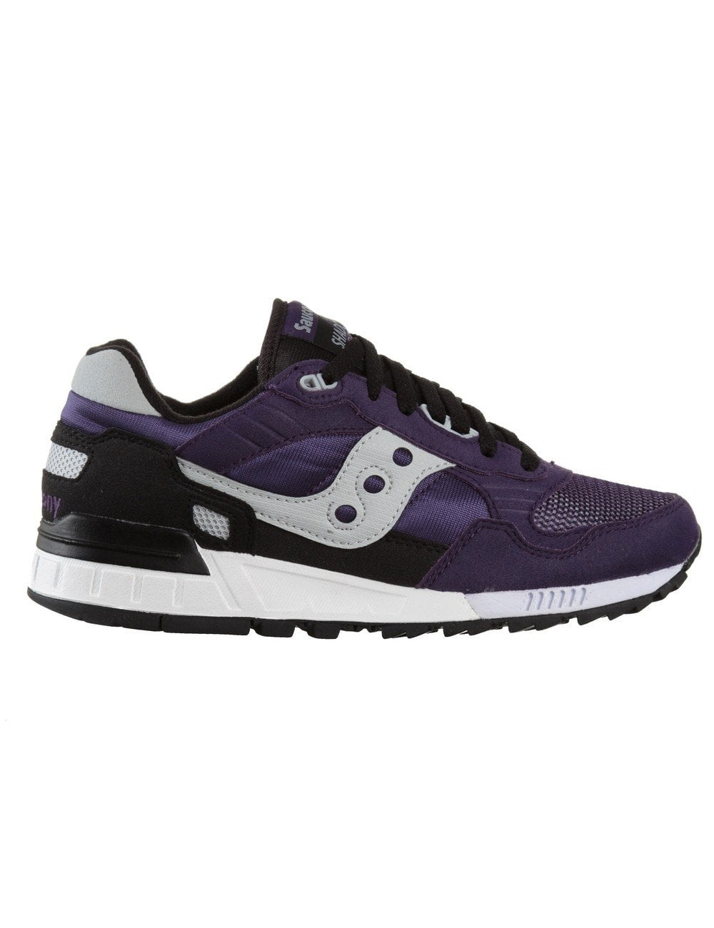 eb19d1c18e12 Saucony Shadow 5000 Shoes - Purple Black - Footwear from Fat Buddha ...