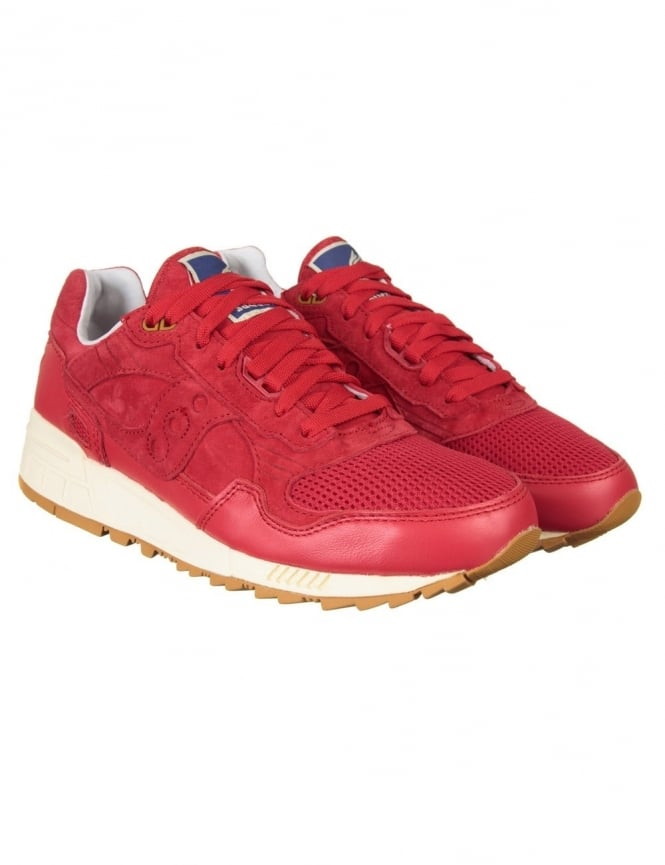 Saucony Shadow 5000 Shoes - Red (Bodega Elite Pack)