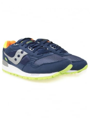 Saucony Shadow 5000 Trainers - Blue/Citron