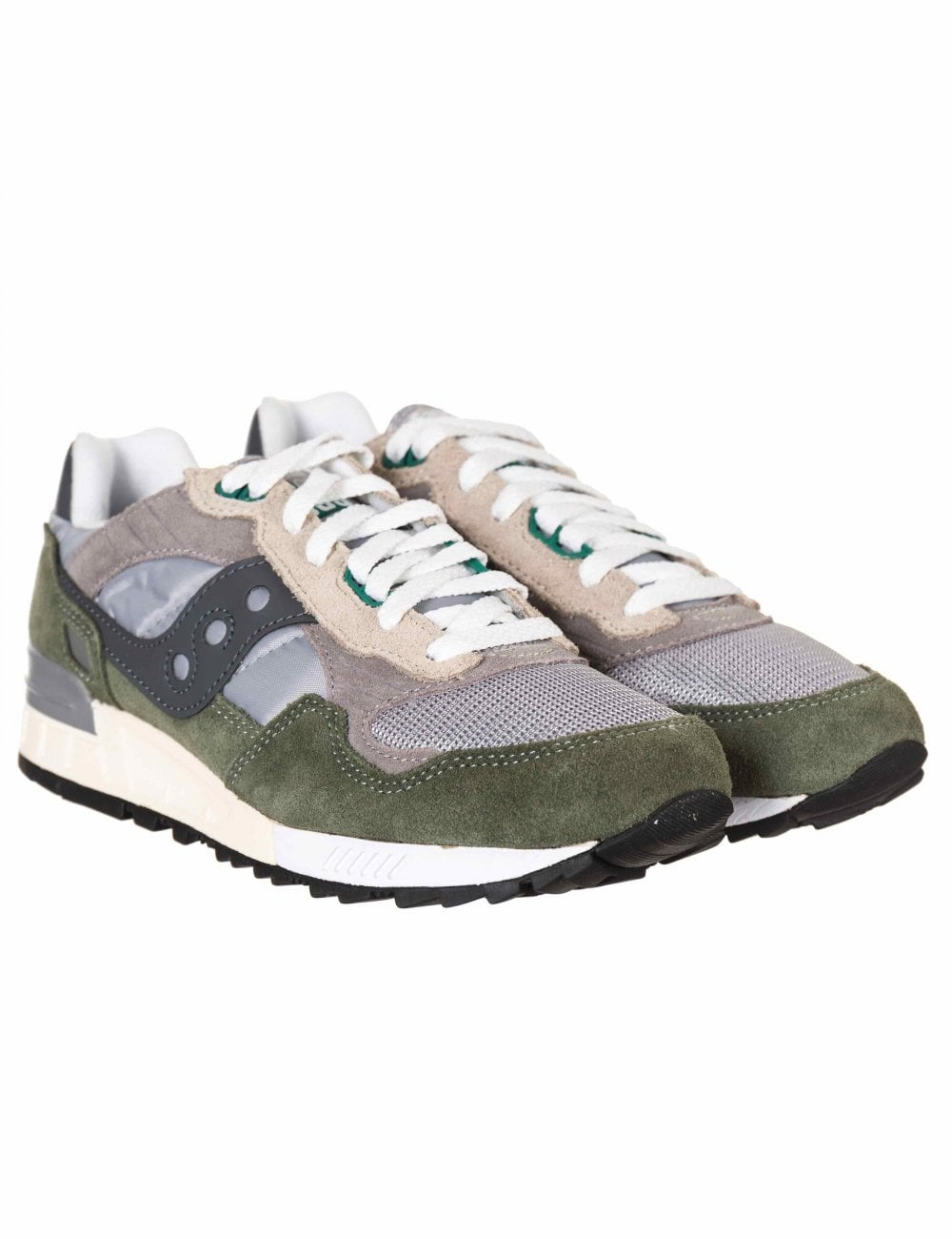 64f9b036b380 Saucony Shadow 5000 Vintage Trainers - Grey Green - Footwear from ...