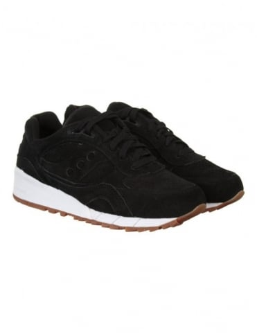 Saucony Shadow 6000 Shoes - Black Coffee (Irish Coffee Pack)