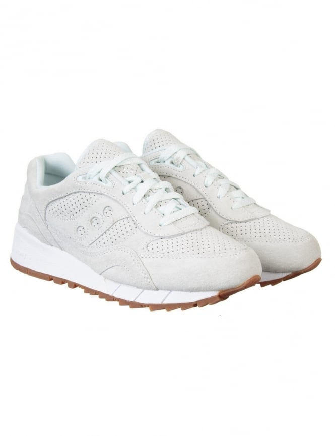 Saucony Shadow 6000 Shoes - Cream (Irish Coffee Pack)
