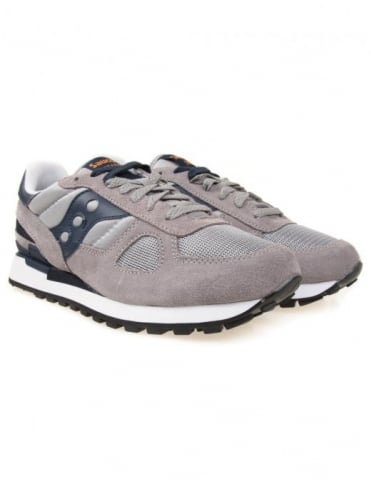 Saucony Shadow Original Trainers - Grey/Navy