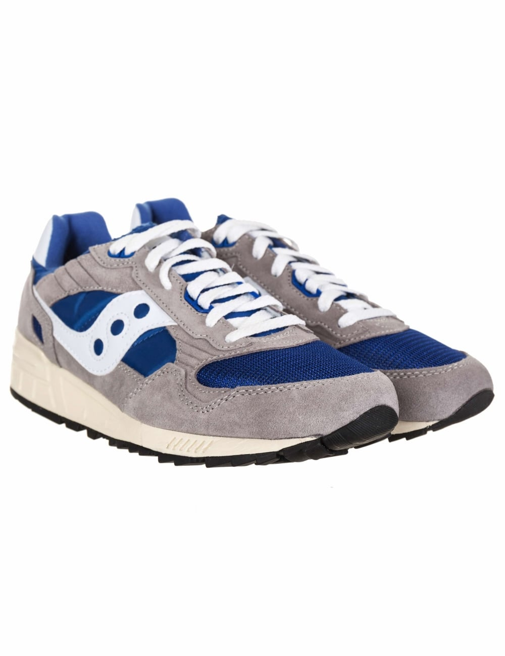 f0958ac519a3 Saucony Shadow 5000 Trainers - Vintage Grey Blue - Footwear from Fat ...