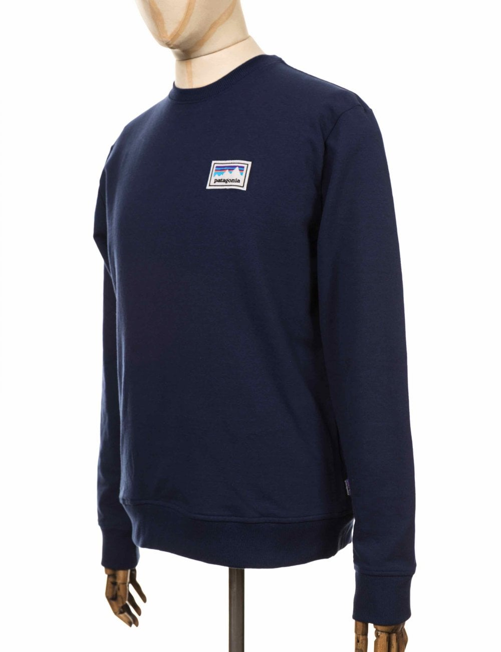 Navy Crew Sweatshirt Shop Uprisal Patagonia Classic Sticker Patch q40w4IF