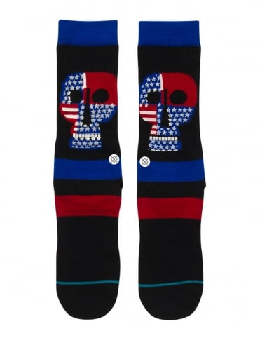 Freedom Head Socks - Black