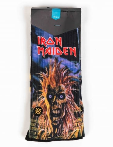 Stance Socks Iron Maiden Socks - Black