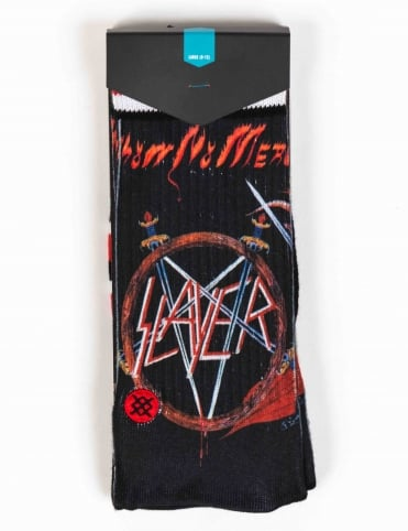 Stance Socks Slayer Socks - Black