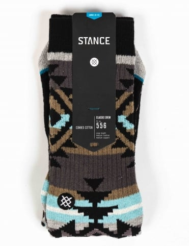 Stance Socks Table Mountain Socks - Black