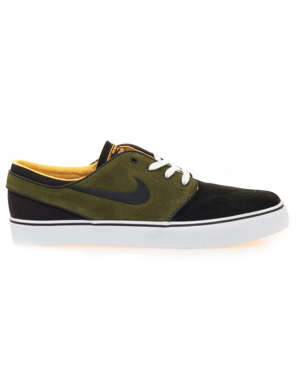 253e15e9008b67 Nike SB Zoom Stefan Janoski - Black Legion Green - Footwear from Fat ...