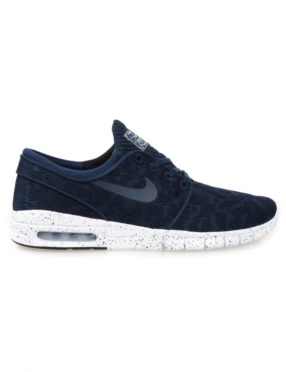bef26184c978 Nike SB Stefan Janoski Max - Midnight Navy - Footwear from Fat Buddha Store  UK