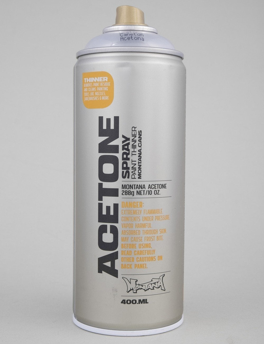 Montana Gold T5100 Acetone Spray Can 400ml Spray Paint Supplies