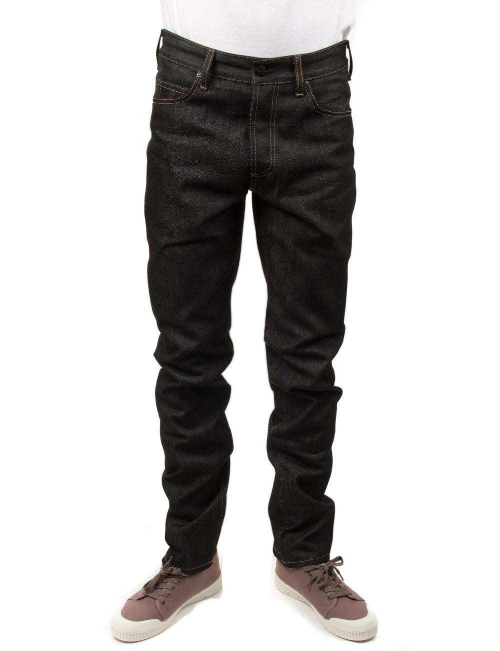 e35c4218 Carhartt WIP Texas Pant II - Black Rigid - Clothing from Fat Buddha Store UK