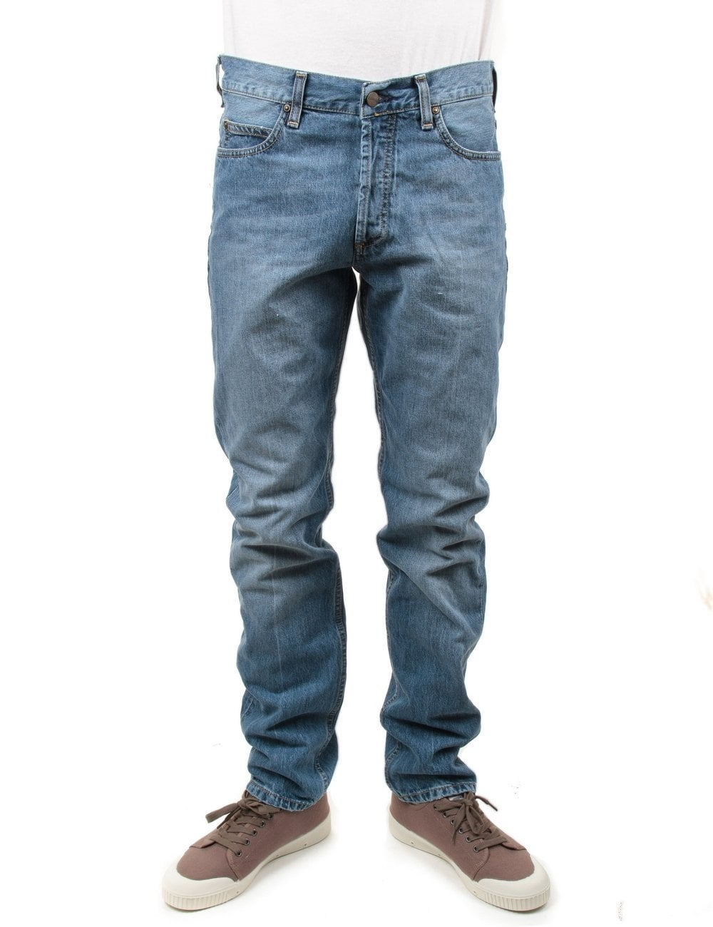 53be5a76 Carhartt WIP Texas Pant II - Blue Pier Wash - Clothing from Fat Buddha  Store UK