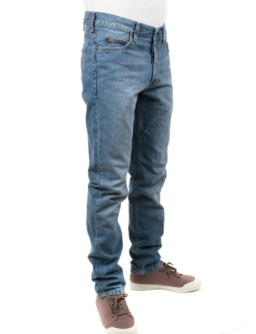 ad922311 Carhartt WIP Texas Pant II - Blue Pier Wash - Clothing from Fat ...