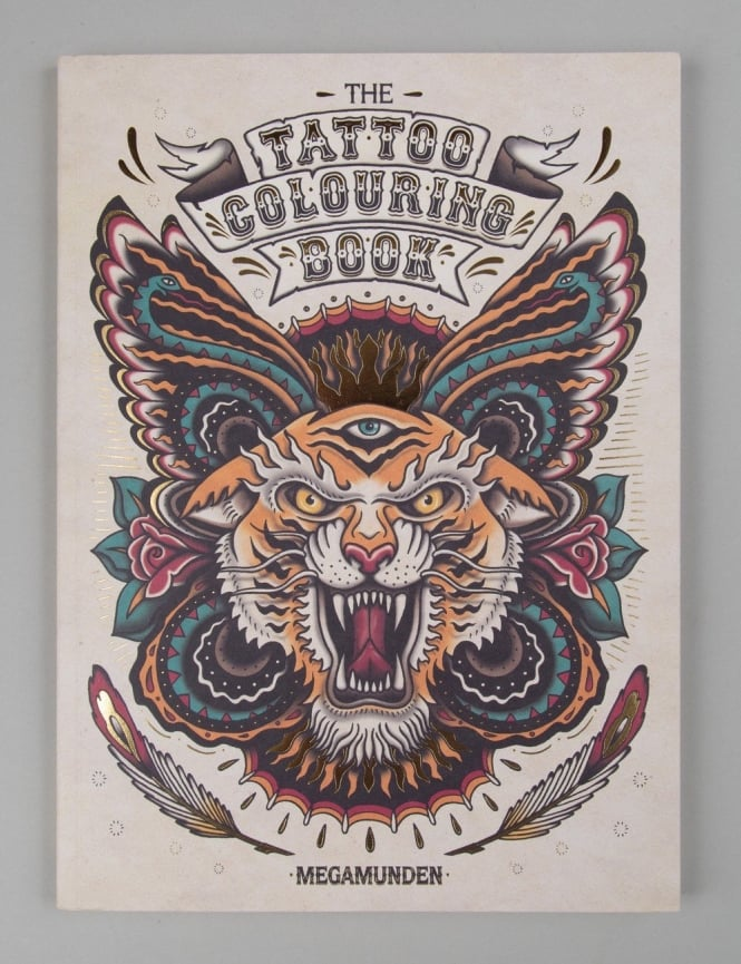 Thames and Hudson The Tattoo Colouring Book