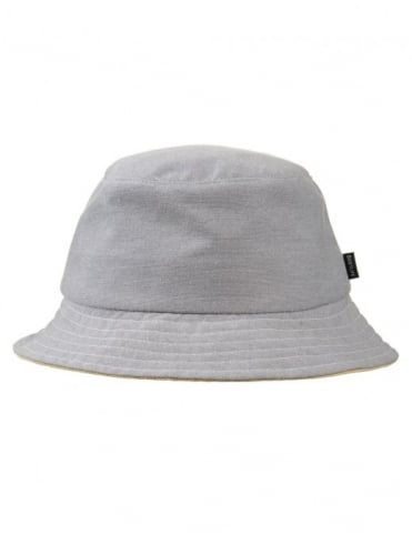 The Quiet Life Oxford Bucket Hat - Grey
