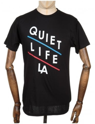 The Quiet Life Slant T-shirt - Black