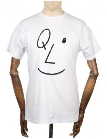 The Quiet Life Smile T-shirt - White
