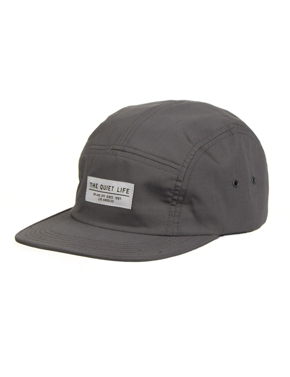 4eb8b23a7eb The Quiet Life Whisper 5 Panel Hat - Grey - Accessories from Fat ...
