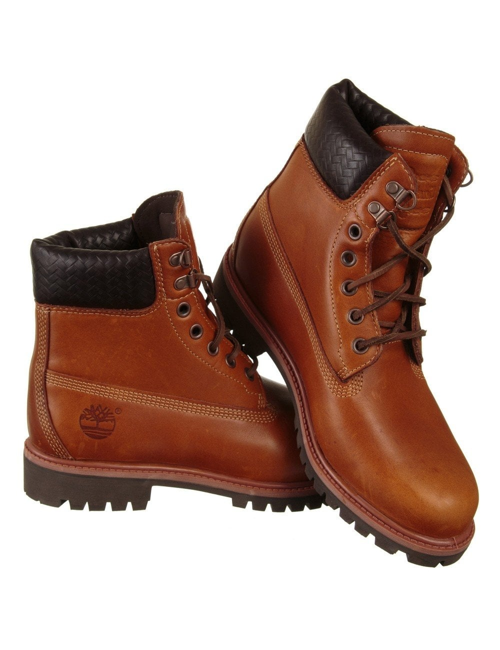 fresh styles great deals 2017 big selection 6-inch Premium Boot - Claypot Brown with Woven Collar