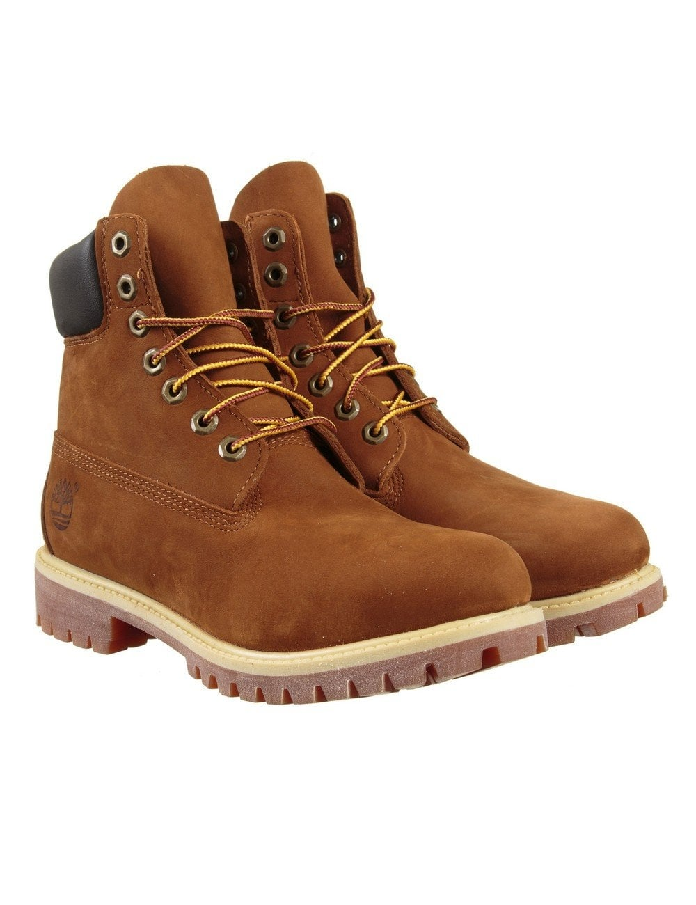 da8d6059a7e8 Timberland 6-inch Premium Waterproof Boot - Rust Orange - Shoes ...