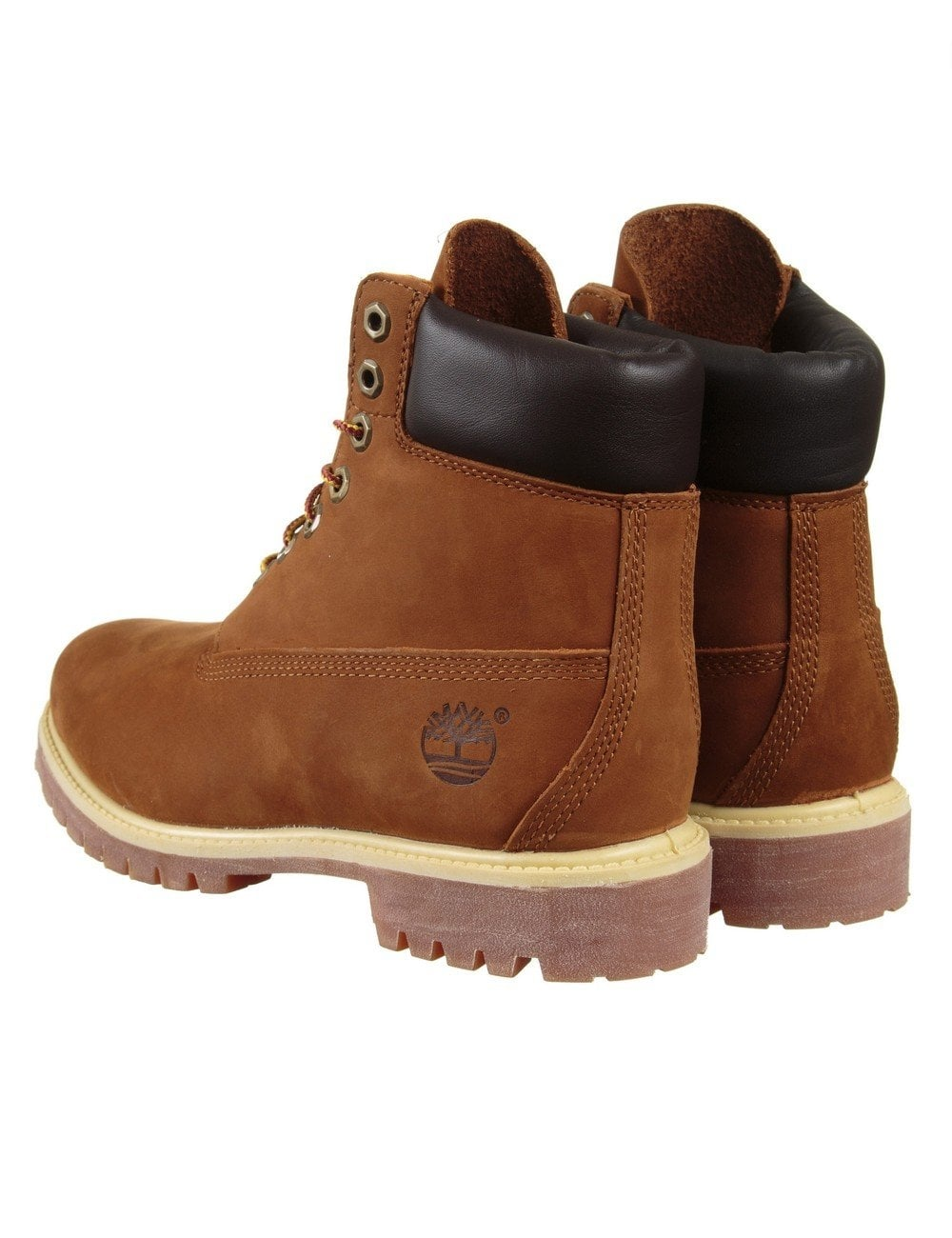 a8c45adbf1a1 Timberland 6-inch Premium Waterproof Boot - Rust Orange - Shoes ...