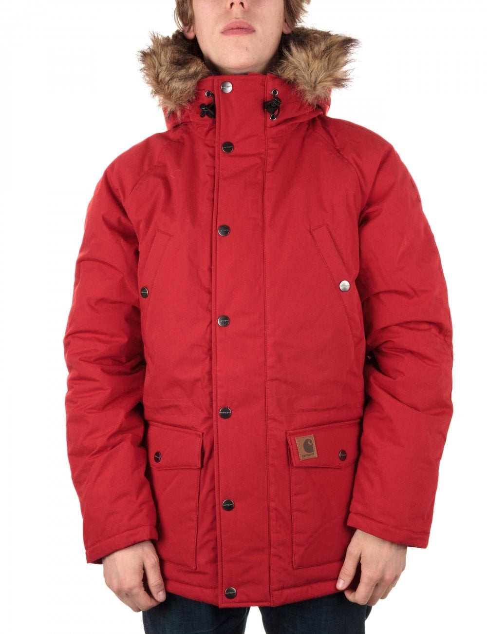 cheap for sale best website great prices Trapper Parka - Blast Red/Prune