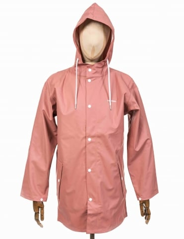 Wings Rain Coat - Dusty Pink