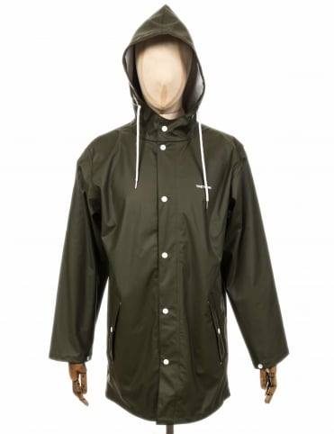 Wings Rain Coat - Forest Green