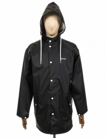 Wings Rain Coat - Jet Black