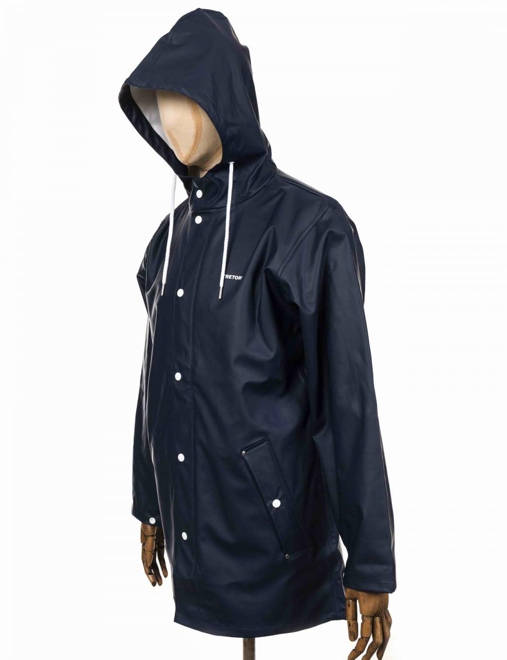 adb1f4e508226 Tretorn Wings Rain Coat - Navy - Clothing from Fat Buddha Store UK