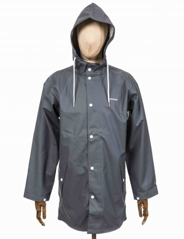 Wings Rain Coat - Steel Grey