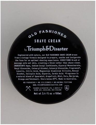 Triumph & Disaster Old Fashioned Shave Cream - Jar
