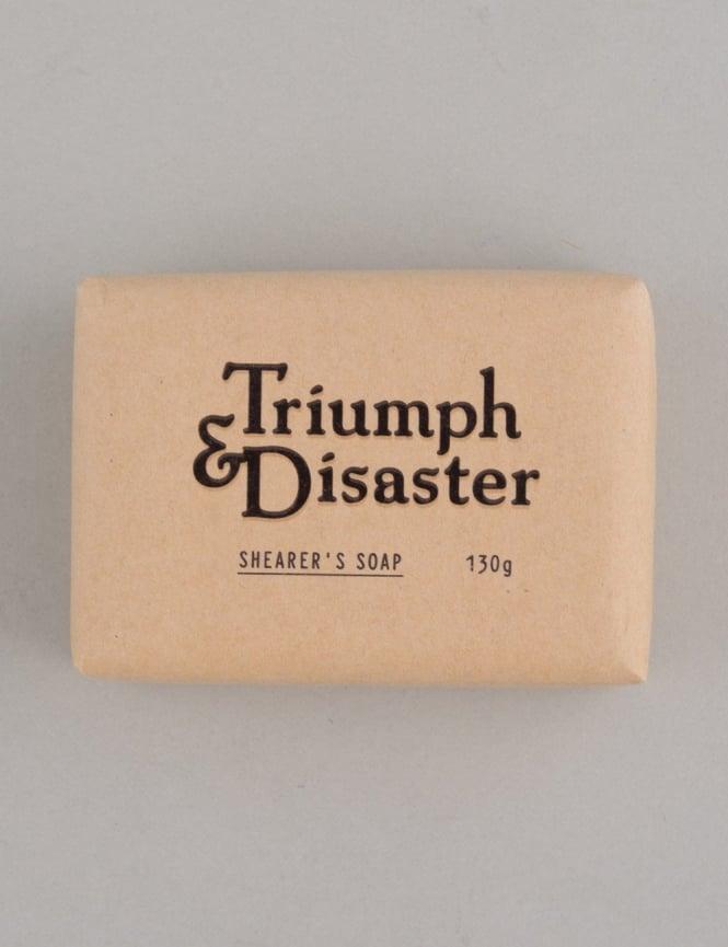Triumph & Disaster Soap Bar - Shearers Soap