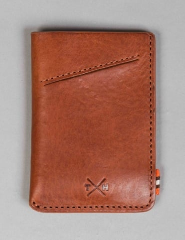 Chukka Leather Adept Card Holder - Tan