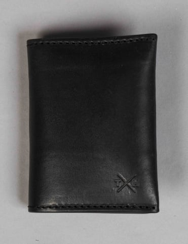 Chukka Leather Card Holder - Black