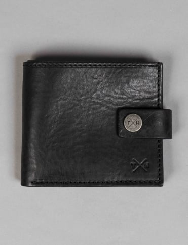 Tumble & Hide Chukka Leather Classic Wallet - Black