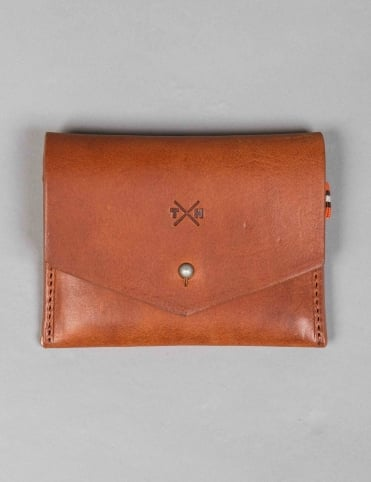 Chukka Leather Slim Card Holder - Tan