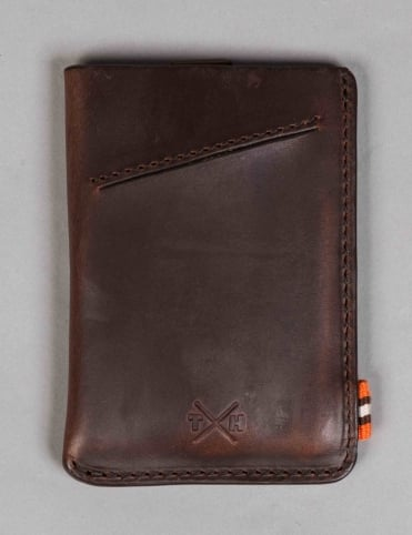 Horween Leather Adept Card Holder - Brown