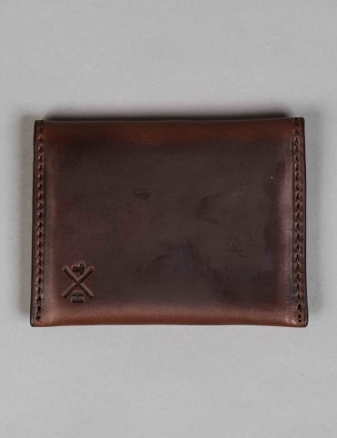 Horween Leather Card Holder - Brown