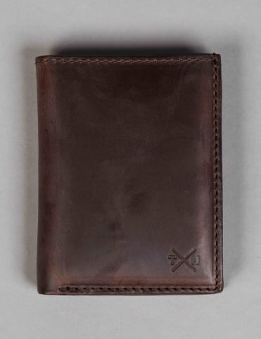 Horween Leather Card Wallet - Brown