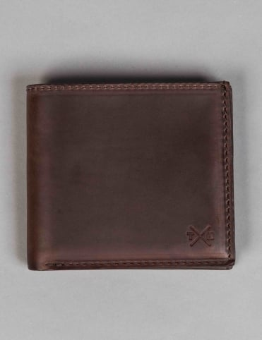 Horween Leather East West Wallet - Brown