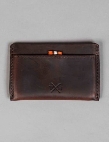 Horween Leather Slim Card Holder - Brown