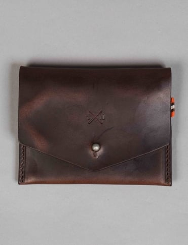 Horween Leather Slim Wallet - Brown