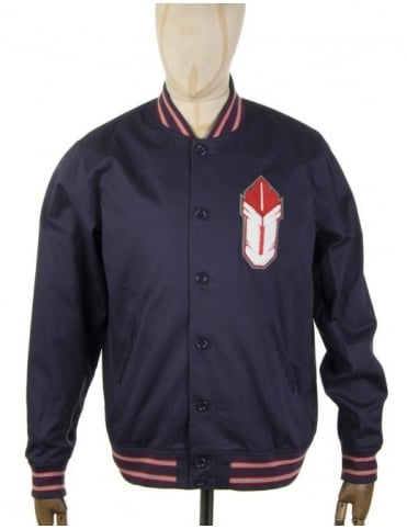 Undefeated Ambush Varsity Jacket - Blue