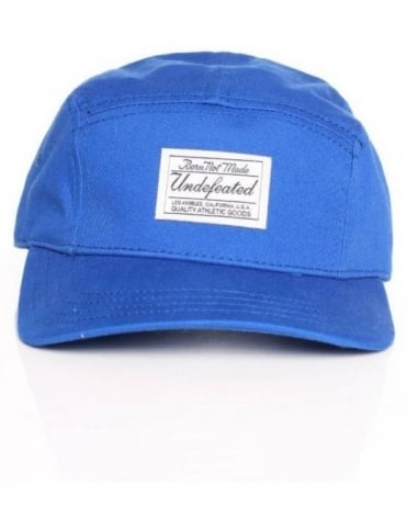 Undefeated B.N.M. Camp 5 Panel Hat - Blue