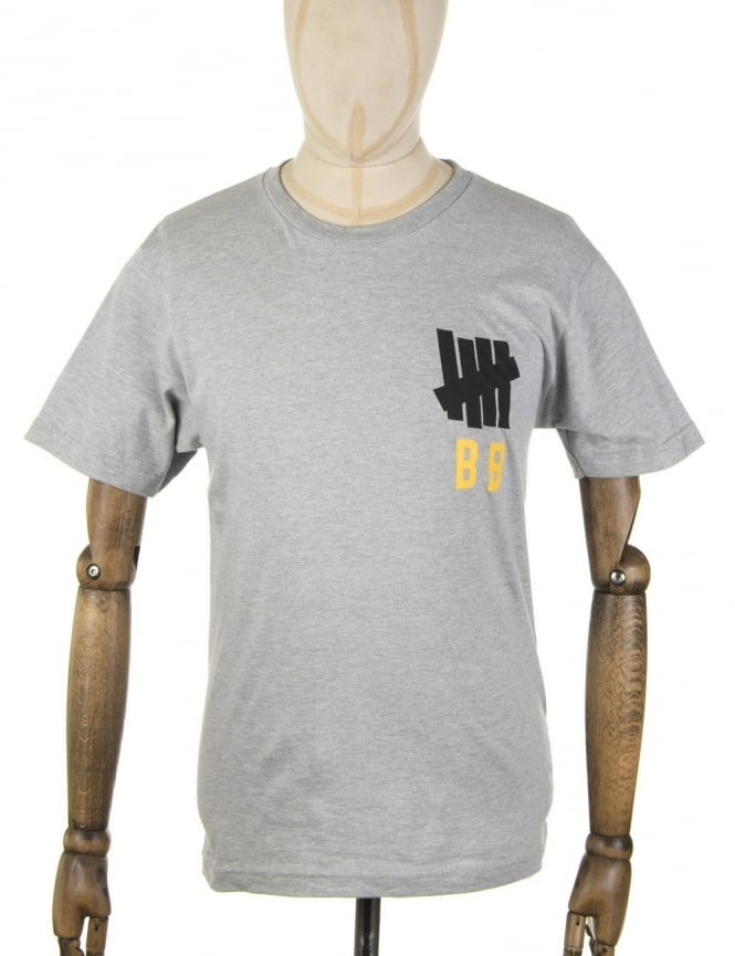 Undefeated Bat Boy T-shirt - Heather Grey