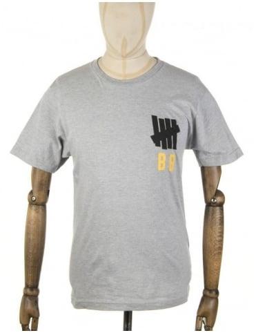 Undefeated Bat Boy T-shirt - Heather Grey